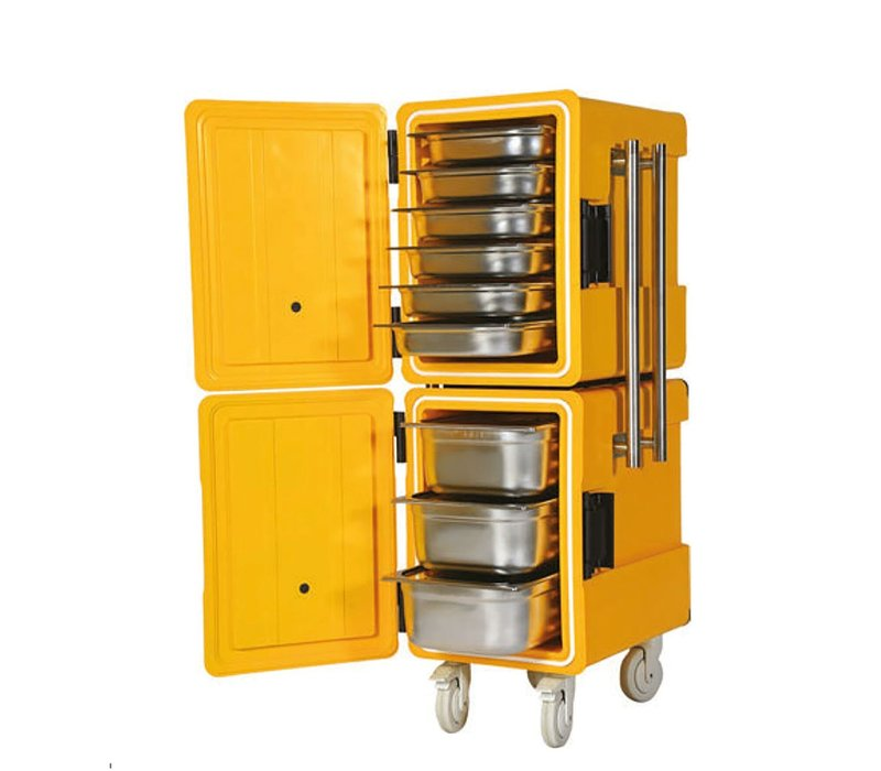 Saro Thermal Container On Wheels | 2x 86 liters | 1/1 GN | 520x630x (H) 1350mm