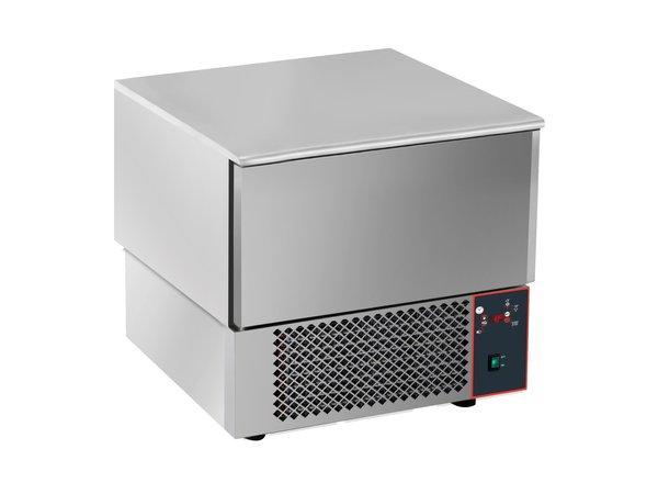 Saro Blastchiller 3x 1/1GN | Digitaal Display | 750x750x(H)770-790mm