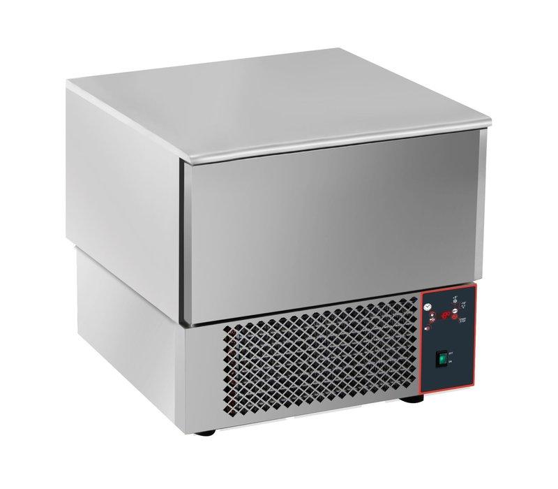 Saro Blast chiller 3x 1 / 1GN | Digital Display | 750x750x (H) 770-790mm