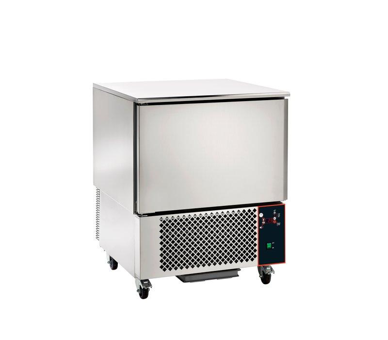 Saro Blast chiller 5x 1 / 1GN | Digital Display | 750x750x (H) 890-910mm