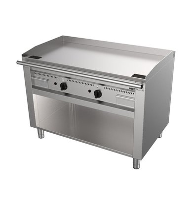 Saro Gas Teppanyaki Grill with Undercube | 2x 5.8kW | 1200x720x850 (h) mm