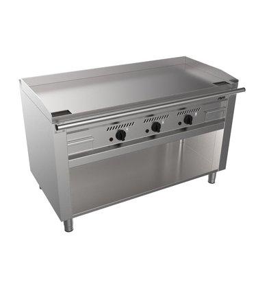 Saro Gas Teppanyaki Grill with Undercube | 3x 5.8kW | 1400x720x850 (h) mm