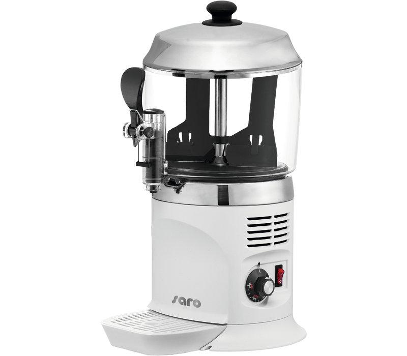 Saro Chocolate Milk Dispenser for Hot Chocolate - 5 liters - Black or White - XXL OFFER!