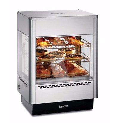 Lincat Warme Opzetvitrine | UMS50D | Bediening Achterzijde | 565x565x(H)780mm