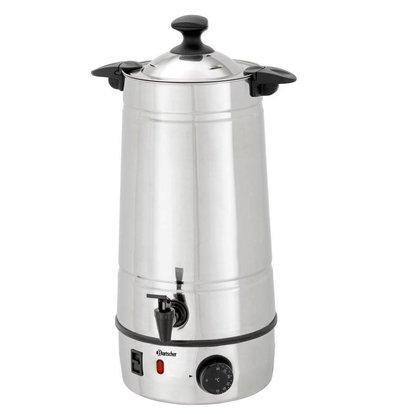 Bartscher Gluhwein ketel | Edelstalen Behuizing | Temperatuurregelaar | Ø220 mm | 7 liter  | Showroom Model