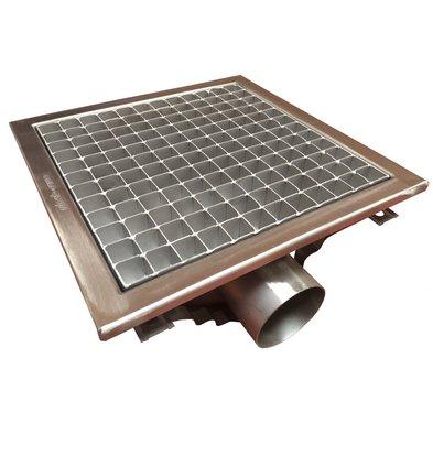 Combisteel Vloerput Vierkant   300x300x(H)195mm