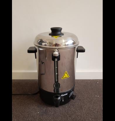 Bartscher SHOWMODEL | Heetwaterdispenser RVS | 6 Liter | 1,8 kW | 280x290x(H)385mm