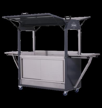 MultiWagon Coolrolly Basic | Multifunctionele Mobiele Pop-upstore | 1850x750x(H)2040mm