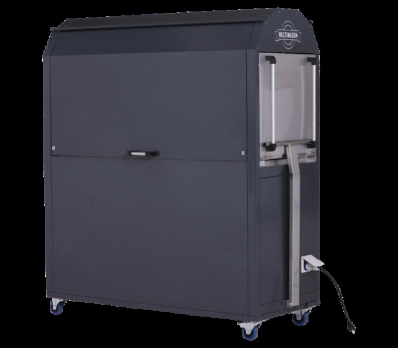 MultiWagon Coolrolly Tapasbar | Multifunctionele Mobiele Pop-up Tapasbar | 1850x750x(H)2040mm