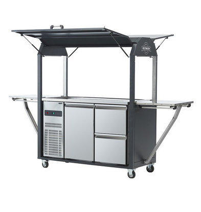 MultiWagon Coolrolly | Multifunctional Mobile Pop-up Bar / tap | 1850x750x (H) 2040mm
