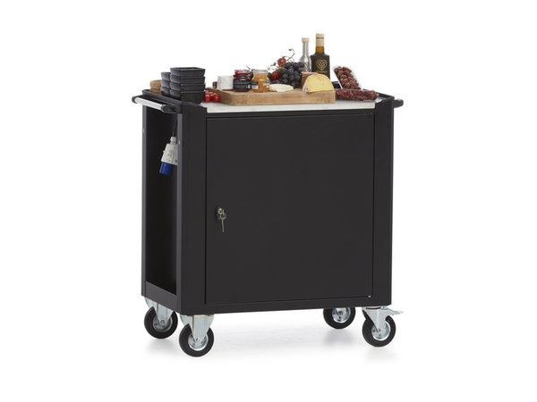 MultiWagon Serve Trolley Cheese | Multifunctional Mobile Trolley | 790x490x (H) 900mm