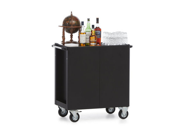 MultiWagon Serve Trolley Whiskey / cognac | Multifunctional Mobile Trolley | 790x490x (H) 900mm