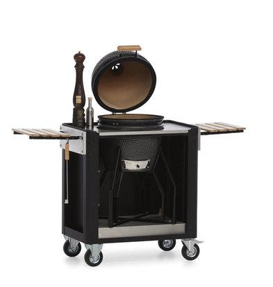 MultiWagon Serveer Trolley Barbecue| Multifunctionele Mobiele Trolley | 790x490x(H)900mm
