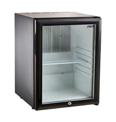 Saro Minibar Koelkast MB 30 | Glazen Deur | 402x428x(H)500mm