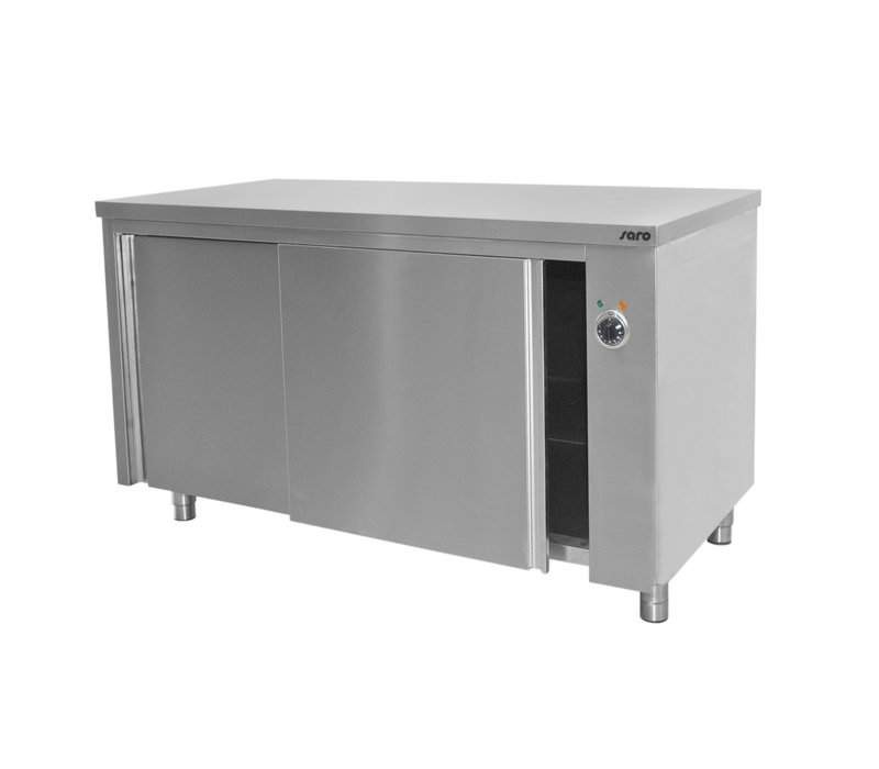 Saro Heating cabinet 3 kW | 30-90 Degrees | 700mm Deep | Available in 6 lengths