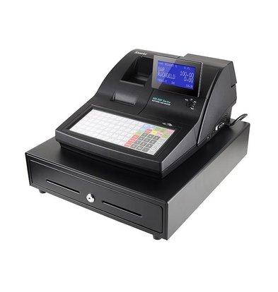 Sam4s Kassasysteem Traditioneel   Sam4s NR-500B   Enkel Station Printer   LCD Display   Plat Toetsenbord
