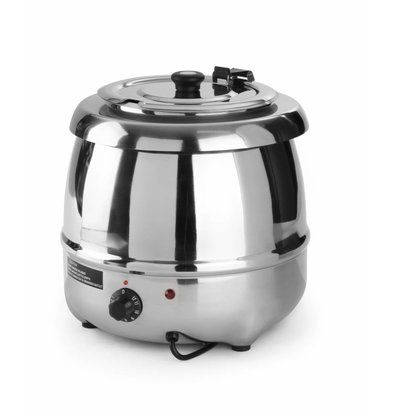 Hendi Electric Soup Kettle Stainless Steel 8 Litre
