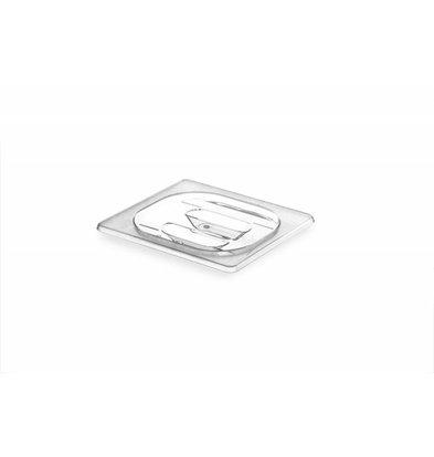 Hendi Gastronormdeksel 1/6 - Tritan BPA vrij