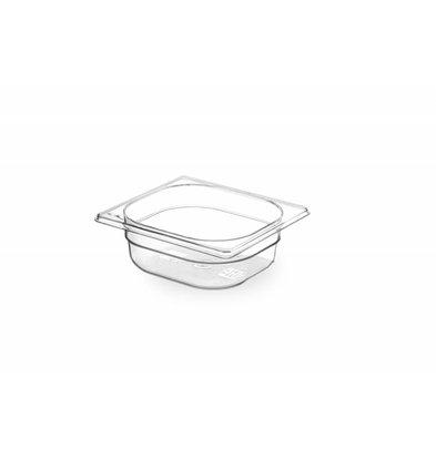 Hendi Gastronormbak sixth - 65 mm - BPA-free Tritan