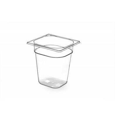 Hendi Gastronormbak sixth - 200 mm - BPA-free Tritan