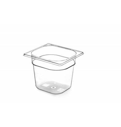 Hendi Gastronormbak 1/4 - 200 mm - Tritan BPA vrij