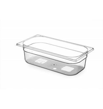 Hendi Gastronormbak 1/3 - 100 mm - Tritan BPA vrij