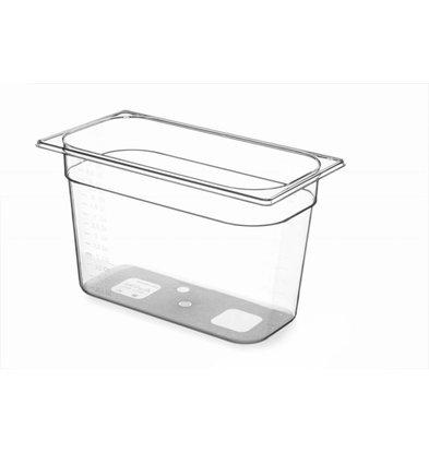 Hendi Gastronormbak 1/3 - 200 mm - Tritan BPA vrij