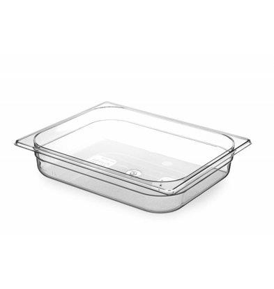 Hendi Gastronormbak half - 65 mm - BPA-free Tritan