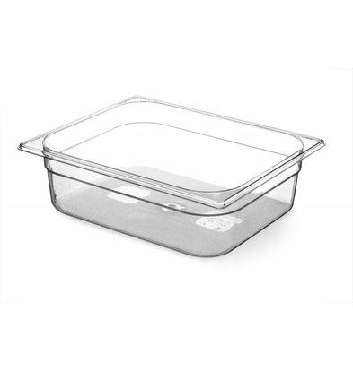 Hendi Gastronormbak 1/2 - 100 mm - Tritan BPA vrij