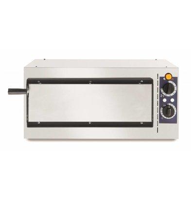 Hendi Pizzaoven Basic Enkel 40   1600W   568x430x(H)280mm