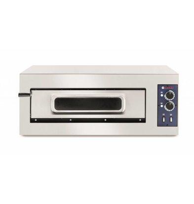 Hendi Pizzaoven Basic Enkel   RVS   5000W   915x621x(H)357mm