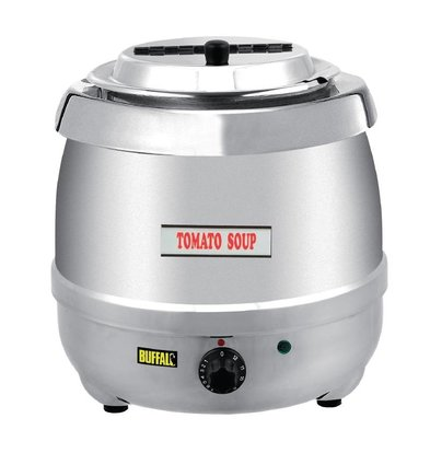 Buffalo Elektrische Soepketel RVS 10 Liter - XXL Aanbieding