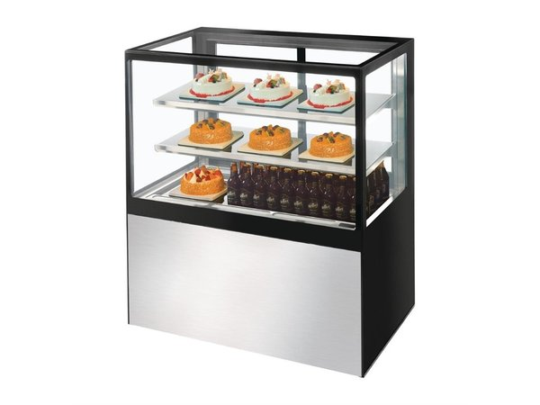 Polar Deli Refrigerated display 385 liters | 1.09kW | Tempered Glass 1200x680x (H) 1200mm