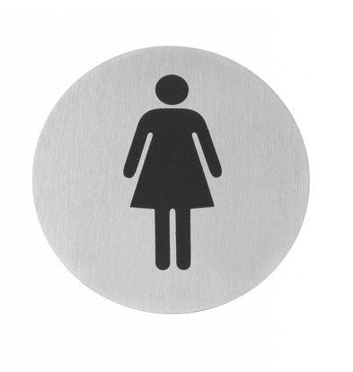 Hendi Child Ladies stainless steel door - 75 mm