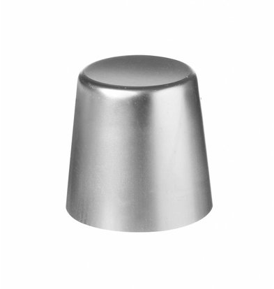 Hendi Babavorm zonder rand 70x68 mm - aluminium