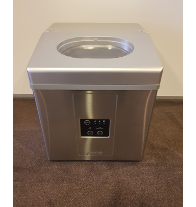 Saro Ice maker - Stainless Steel Housing - 3 Adjustable Sizes - 15 kg / 24 hours - 2 year warranty