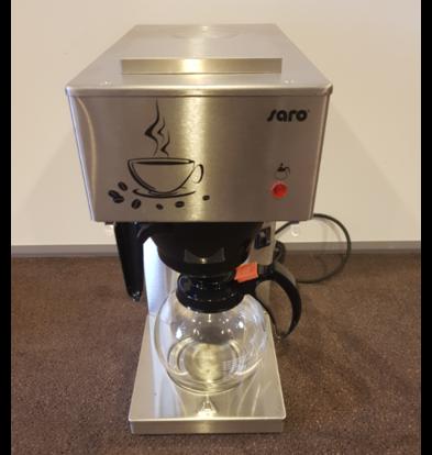 Saro SHOW MODEL   Economic RVS coffee machine 2x1.8 Liter / 24 cups   205x385x (H) 435mm
