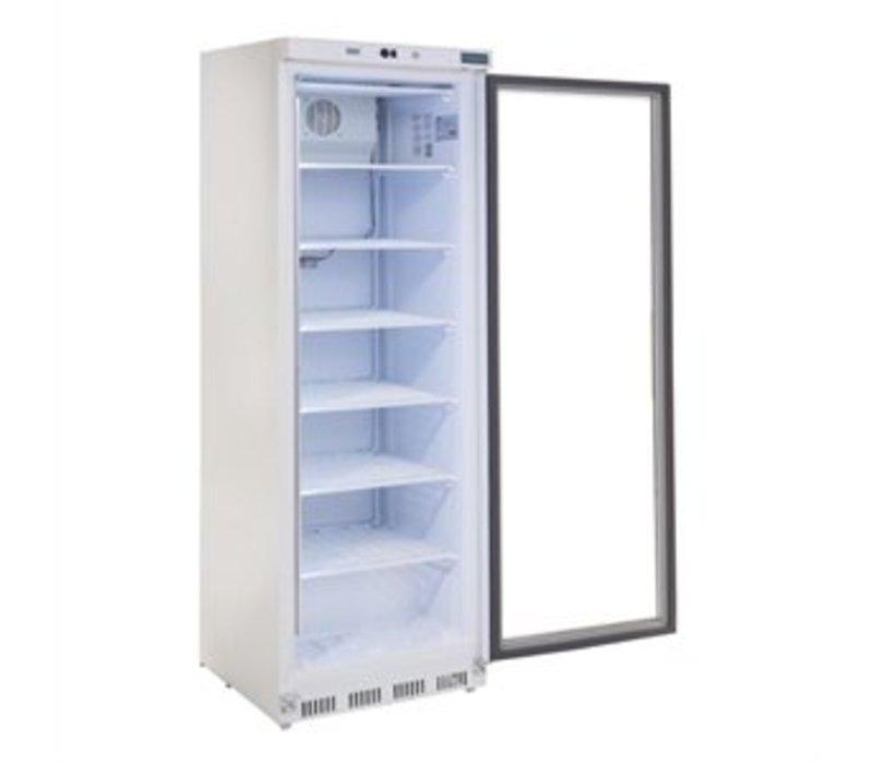 Polar Vrieskast met glazendeur - 365 Liter - 60x60x(h)185cm