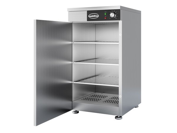 Combisteel Borden Warmhoudkast | 45-60 Borden | 450x485x(H)850mm