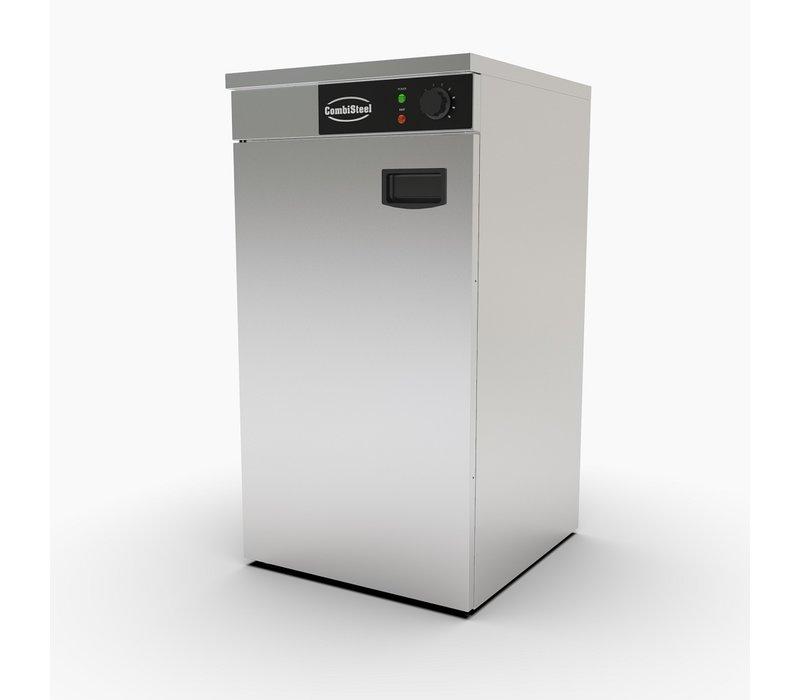 Combisteel Warmhoudkast RVS AISI 201 | 45-60 Borden | 450x485x(H)850mm