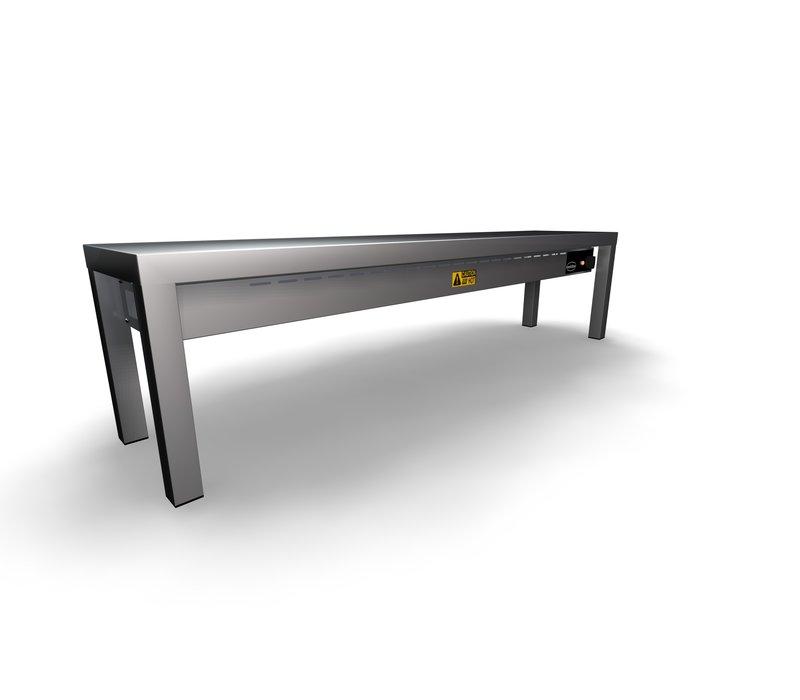Combisteel Etagere Keramisch Verwarmd | 300x(H)350mm | 1 Niveau | Beschikbaar in 6 Breedtes