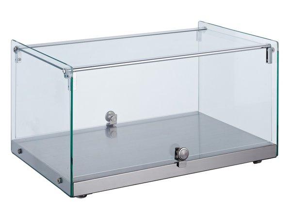 Combisteel Neutral Showcase Straight   35 liters   554x361x (H) 305mm