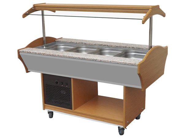 Combisteel Chilled Buffet GN 4/1 | 1550x900x (H) 850 / 1350mm