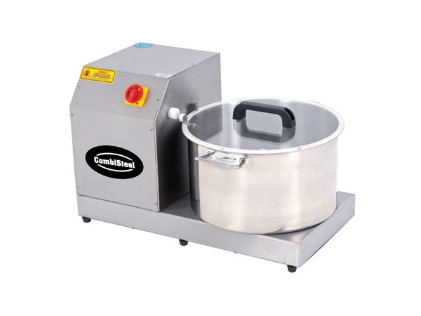 Combisteel Cutter Snijmachine 400V   2.2 kW   8kg groenten   4kg vlees   3kg hummus   490x660x(H)400mm