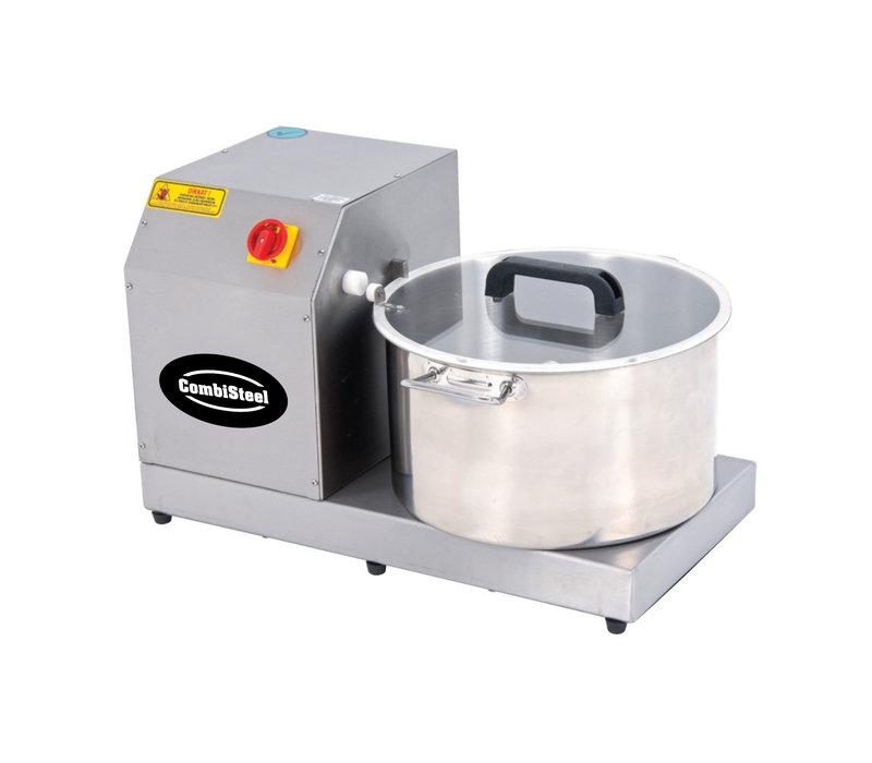 Combisteel Cutter Snijmachine 230V | 2.2 kW | 8kg groenten | 4kg vlees | 3kg hummus | 490x660x(H)400mm