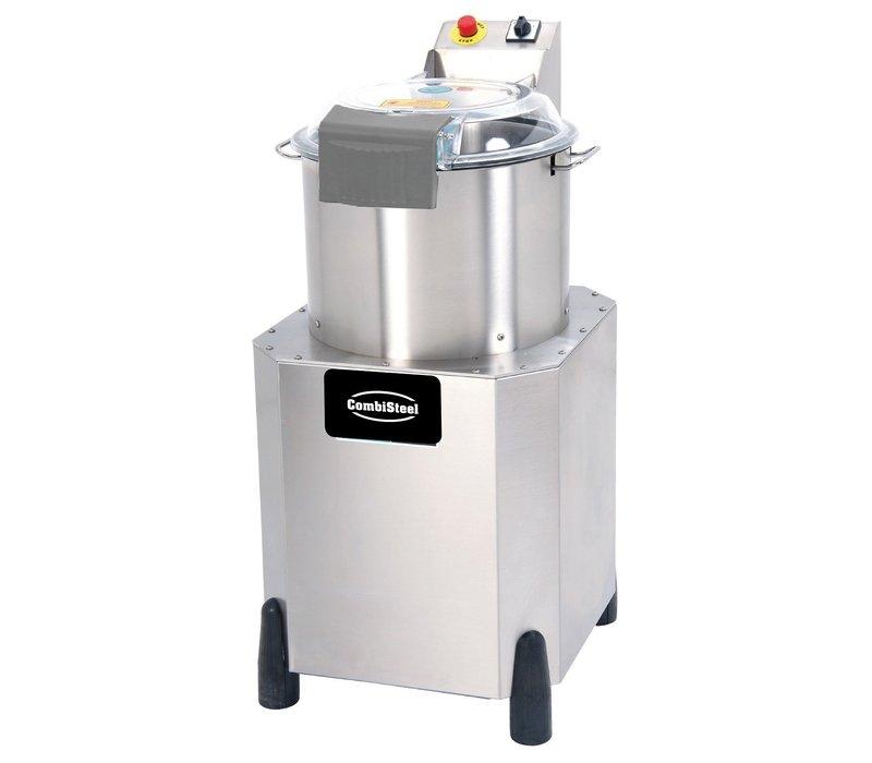 Combisteel Cutter Snijmachine 400V | 2.2 kW | 8kg groenten | 6kg vlees | 5kg hummus | 470x660x(H)1000mm