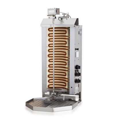 Combisteel Gyros Grill Electric | 6 Heat zones 11.4 kW | 440x550x (H) 1100mm