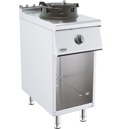 Combisteel Base 700 Gas Wok Table 10 kW   400x700x (H) 900mm
