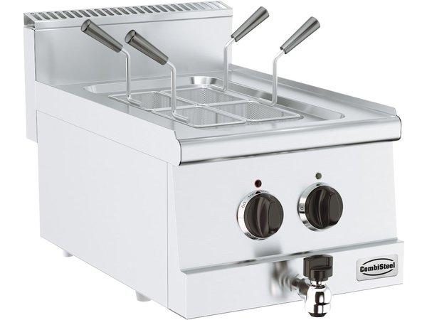 Combisteel Base 600 Elektrische Pastakoker Tafelmodel met Tapkraan | 6 kW | 400x600x(H)300mm