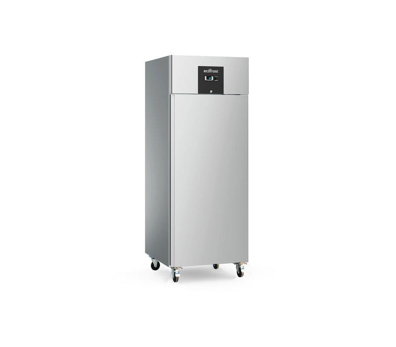 Ecofrost Stainless steel Horeca Refrigerator | Static 600 liters | 560x680x (H) 1390 mm